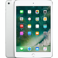 "Планшетный компьютер 7.9"" Apple iPad mini 4, 128Гб Flash, Wi-Fi + Cellular, Silver (MK772RU/A)"
