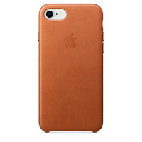 Apple iPhone 8 / 7 Leather Saddle Brown (MQH72ZM/A)