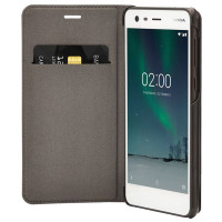 Nokia 2 Leather Flip Cover Black (СP-304)