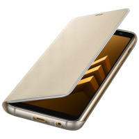 Samsung Galaxy A8 (2018) Neon Flip Cover Gold