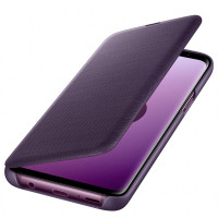 LED View Cover для Samsung Galaxy S9, Orchid Gray