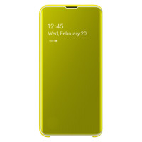 Samsung Clear View Cover для Galaxy S10E, Yellow