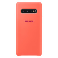 Samsung Silicone Cover для Galaxy S10, Pink