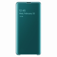 Samsung Clear View Cover для Galaxy S10+, Green