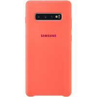 Samsung Silicone Cover для Galaxy S10+, Pink