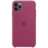 Apple iPhone 11 Pro Max Silicone Case Pomegranate