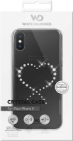 White Diamonds Apple iPhone X прозрачный