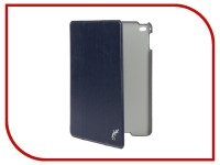 Аксессуар Чехол для APPLE iPad mini 4 G-Case Slim Premium Dark-Blue GG-657