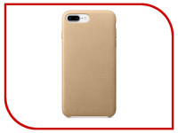 Аксессуар Чехол APPLE iPhone 7 Plus Leather Case Tan MMYL2ZM/A