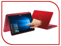 Ноутбук Dell Inspiron 3168-5407 (Intel Pentium N3710 1.6 GHz/4096Mb/500Gb/no ODD/Intel HD Graphics/Wi-Fi/Bluetooth/Cam/1366x768/Touchscreen/Windows 10)