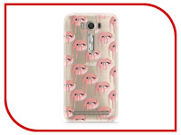 Аксессуар Чехол Asus ZenFone 2 ZE500KL Laser 5.0 With Love. Moscow Silicone Lips 2 5807