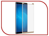 Аксессуар Защитное стекло Samsung Galaxy Note 8 Ainy Full Screen Cover 3D 0.2mm Gold