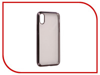 Аксессуар Чехол для APPLE iPhone X / XS iBox Blaze Silicone Black Frame