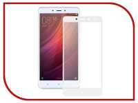 Аксессуар Защитное стекло Xiaomi Redmi Note 4 Ainy Full Screen Cover 0.33mm White