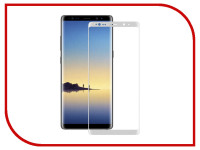 Аксессуар Защитное стекло Samsung Galaxy Note 8 Ainy Full Screen Cover 3D 0.2mm White