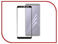Аксессуар Защитное стекло для Samsung Galaxy A8 Plus 2018 Media Gadget 2.5D Full Cover Glass Black Frame MGFCSGA818PFGBK