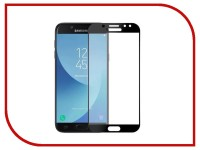Аксессуар Защитное стекло для Samsung Galaxy J7 2017 Media Gadget 2.5D Full Cover Glass Black Frame MGFCSGJ717FGBK