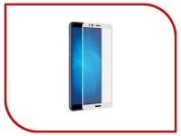 Аксессуар Защитное стекло Huawei Nova 2i Media Gadget 2.5D Full Cover Glass White Frame MGFCHN2IWT