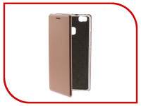 Аксессуар Чехол для Huawei P9 Lite Innovation Book Pink Gold 11956