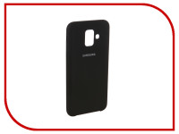 Аксессуар Чехол для Samsung Galaxy A6 2018 Innovation Silicone Black 12624