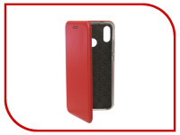 Аксессуар Чехол для Huawei P20 Lite Innovation Book Silicone Magnetic Red 13411