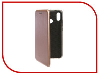 Аксессуар Чехол для Huawei P20 Lite Innovation Book Silicone Magnetic Rose Gold 13414
